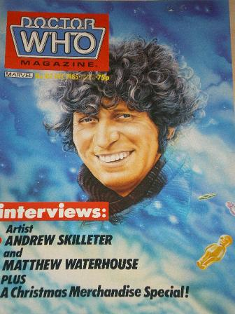 DOCTOR WHO magazine, December 1985 issue for sale. Original gifts from Tilleys, Chesterfield, Derbys