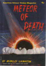 AMERICAN SCIENCE FICTION LIVINGSTON 1950S PITT METEOR DEATH SCARCE VINTAGE PULP