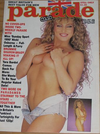 PARADE MAGAZINE NUMBER 135 ISSUE 1990 VINTAGE ADULT MENS GLAMOUR PUBLICATION FOR SALE CLASSIC IMAGES