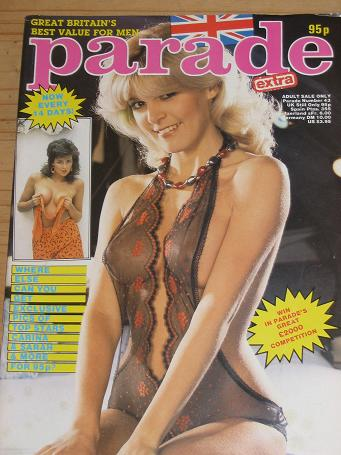 PARADE MAGAZINE NUMBER 43 ISSUE 1986 VINTAGE ADULT MENS GLAMOUR PUBLICATION FOR SALE CLASSIC IMAGES