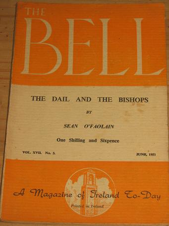 THE BELL JUNE 1951 SEAN O'FAOLAIN IRELAND FOR SALE CLASSIC IMAGES OF THE TWENTIETH CENTURY PURE NOST