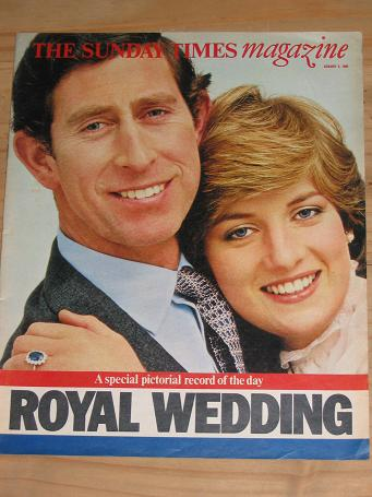 PRINCESS DIANA AUGUST 2 1981 SUNDAY TIMES MAGAZINE FOR SALE PURE NOSTALGIA ARCHIVES CLASSIC IMAGES O