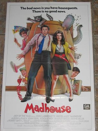ORIGINAL MOVIE POSTER MADHOUSE 1990 FOR SALE PURE NOSTALGIA ARCHIVES CLASSIC IMAGES OF THE TWENTIETH