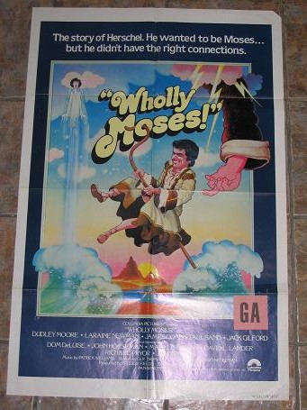 ORIGINAL MOVIE POSTER WHOLLY MOSES 1980 FOR SALE PURE NOSTALGIA ARCHIVES CLASSIC IMAGES OF THE TWENT