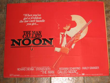 ORIGINAL MOVIE POSTER THE MAN CALLED NOON 1972 FOR SALE PURE NOSTALGIA ARCHIVES CLASSIC IMAGES OF TH