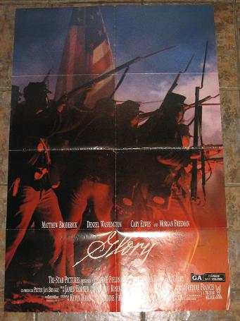 ORIGINAL MOVIE POSTER GLORY 1989 FOR SALE PURE NOSTALGIA ARCHIVES CLASSIC IMAGES OF THE TWENTIETH CE