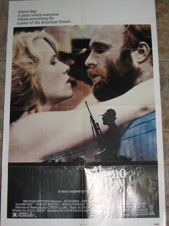 ORIGINAL MOVIE POSTER ALAMO BAY 1985 FOR SALE PURE NOSTALGIA ARCHIVES CLASSIC IMAGES OF THE TWENTIET