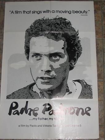 ORIGINAL MOVIE POSTER PADRE PADRONE 1977 FOR SALE PURE NOSTALGIA ARCHIVES CLASSIC IMAGES OF THE TWEN