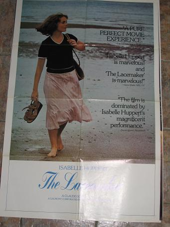 ORIGINAL MOVIE POSTER THE LACEMAKER 1977 FOR SALE PURE NOSTALGIA ARCHIVES CLASSIC IMAGES OF THE TWEN