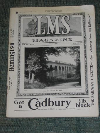 LMS MAGAZINE JULY 1927 ISSUE FOR SALE ANTIQUE PUBLICATION PURE NOSTALGIA ARCHIVES CLASSIC IMAGES OF