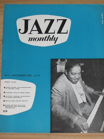 JAZZ MONTHLY MAGAZINE DECEMBER 1959 BACK ISSUE FOR SALE VINTAGE MUSIC PUBLICATION PURE NOSTALGIA ARC