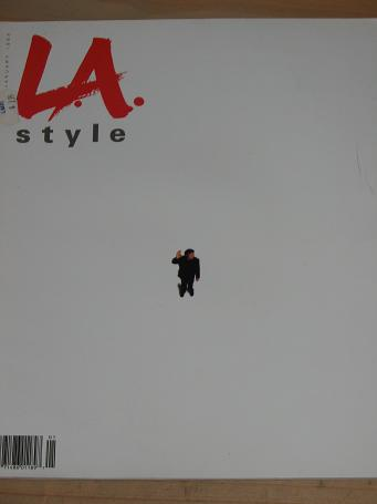 L.A. STYLE MAGAZINE JANUARY 1993 ISSUE FOR SALE VINTAGE PUBLICATION CLASSIC IMAGES OF THE TWENTIETH