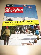 BOYS OWN PAPER MARCH 1964 BROCK MORGAN PITTOCK VINTAGE JUVENILE STORY MAGAZINE FOR SALE PURE NOSTALG
