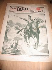 WW1 WAR ILLUSTRATED 24 AUG 1918 SUBMARINE BX2 ANTIQUE MAGAZINE FOR SALE CLASSIC IMAGES OF THE 20TH C