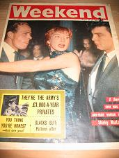 WEEKEND MAGAZINE AUG 24-28 1960 SHIRLEY MACLAINE PICASSO VINTAGE MAGAZINE FOR SALE CLASSIC IMAGES OF