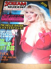 SCREAM QUEENS ILLUSTRATED SECOND ISSUE VOLUME 1 NUMBER 2 WINTER 1993/94 SCARCE VINTAGE HORROR GLAMOU