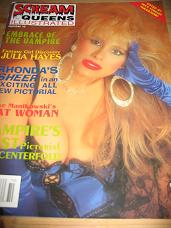 SCREAM QUEENS ILLUSTRATED TENTH ISSUE NUMBER 10 SCARCE VINTAGE HORROR GLAMOUR PIN-UP MAGAZINE FOR SA