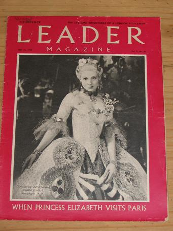 LEADER MAG MAY 15 1948 PAULINE TENNANT TOM PUSS HEWITT VINTAGE PUBLICATION FOR SALE PURE NOSTALGIA A