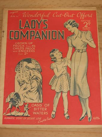 LADYS COMPANION MAG MAY 14 1938 WEST ROWLES VINTAGE PUBLICATION FOR SALE PURE NOSTALGIA ARCHIVES CLA