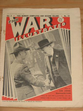 WAR ILLUSTRATED MAG JULY 5 1940 WINSTON CHURCHILL DE GAULLE VINTAGE WW2 PUBLICATION FOR SALE PURE NO