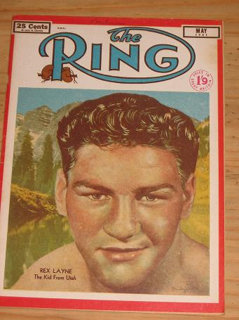 RING BOXING MAG FOR SALE MAY 1951 VINTAGE FIGHT PUBLICATION CLASSIC IMAGES OF THE TWENTIETH CENTURY
