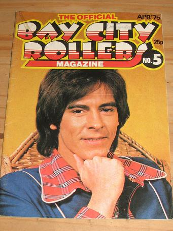 OFFICIAL BAY CITY ROLLERS MAG NO.5 1975 COLLECTABLE POP PUBLICATION FOR SALE PURE NOSTALGIA ARCHIVES