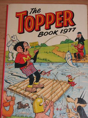 TOPPER BOOK 1977 FOR SALE VINTAGE ANNUAL COLLECTABLE BOOK NOSTALGIA ARCHIVES CLASSIC IMAGES TWENTIET