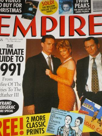 EMPIRE magazine, January 1991 issue for sale. Original British MOVIE publication from Tilley, Cheste