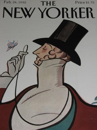 The NEW YORKER magazine, February 24 1992 issue for sale.REA IRWIN. Classic images of the twentieth