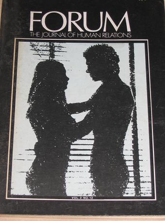 FORUM magazine, Volume 2 Number 12 issue for sale. 1970 ADULT, SEXUAL RELATIONS publication. Classic