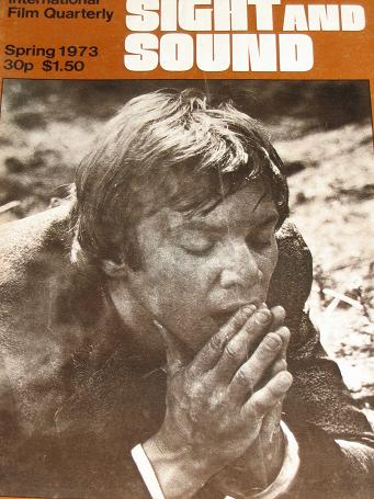 SIGHT AND SOUND magazine, Spring 1973 issue for sale. MALCOLM McDOWELL. Original British MOVIE publi