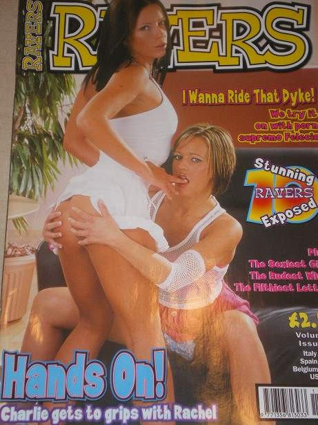 RAVERS magazine, Volume 9 Number 11 issue for sale. Original 2003, British ADULT publication. www.Ti