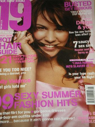 19 magazine, May 2004 issue for sale. Original UK publication from Tilley, Chesterfield, Derbyshire,