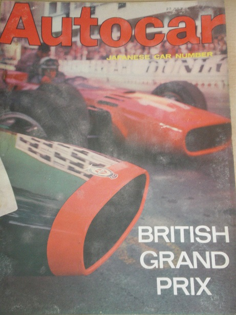 AUTOCAR magazine, 22 July 1966 issue for sale. Original BRITISH MOTORING publication from Tilley, Ch