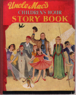 UNCLE MACS CHILDREN'S HOUR STORY BOOK MAYS 1950S COLLINS COLLECTABLE BOOK FOR SALE
