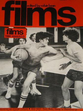 FILMS magazine, January 1981 issue for sale. Original British publication from Tilley, Chesterfield,