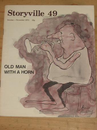 STORYVILLE 49 JAZZ MAGAZINE OCTOBER NOVEMBER 1973 ISSUE FOR SALE SCARCE VINTAGE BLUES MUSIC PUBLICAT