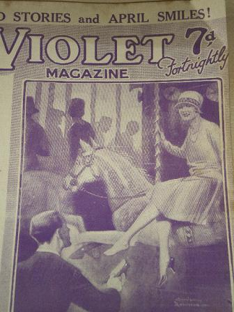 VIOLET magazine, April 13 1928 issue for sale. GORDON ROBINSON. Original British PULP STORY PAPER fr