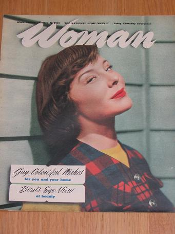 WOMAN magazine January 22 1949. Vintage post-war publication for sale. Classic images of the twentie
