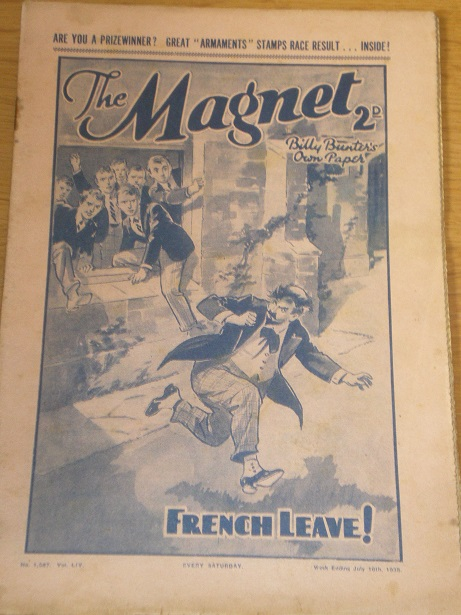 THE MAGNET story paper, July 16 1938 issue for sale. BILLY BUNTER, CHARLES HAMILTON, FRANK RICHARDS,