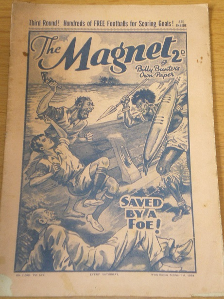 THE MAGNET story paper, October 1 1938 issue for sale. BILLY BUNTER, CHARLES HAMILTON, FRANK RICHARD