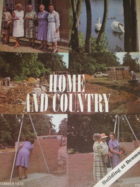 HOME AND COUNTRY magazine, September 1978 1978 issue for sale. Original British publication from Til