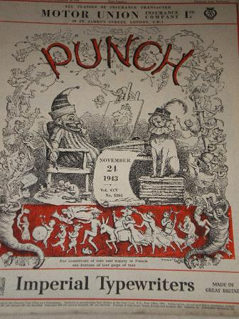 PUNCH magazine, November 24 1943 issue for sale. Original British WORLD WAR TWO publication from Til