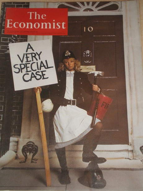 THE ECONOMIST magazine, 10 - 16 December 1977 issue for sale. Original British publication from Till