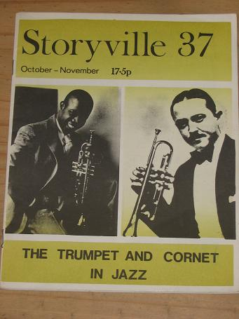 STORYVILLE 37 JAZZ MAGAZINE OCTOBER NOVEMBER 1971 ISSUE FOR SALE SCARCE VINTAGE BLUES MUSIC PUBLICAT
