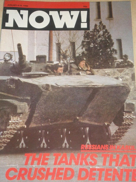 NOW! magazine, January 4 - 10 1980 issue for sale. RUSSIANS IN KABUL. Original British NEWS publicat