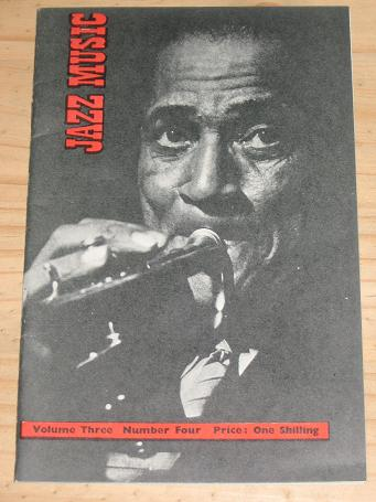 JAZZ MUSIC MAGAZINE 1946 VOLUME 3 NUMBER 4 ISSUE FOR SALE VINTAGE MUSIC PUBLICATION PURE NOSTALGIA A