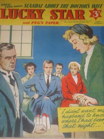 LUCKY STAR, October 29 1951 issue for sale. Original British STORY PAPER from Tilley, Chesterfield,