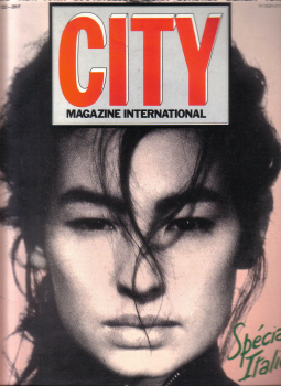 CITY MAGAZINE INTERNATIONAL N.22 1986 PARIS NEW YORK LOS ANGELES MILAN LONDON BERLIN TOKYO VINTAGE P
