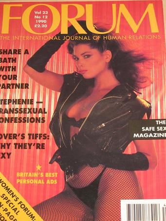 FORUM magazine, Volume 23 Number 12 issue for sale. 1990 ADULT, SEXUAL RELATIONS publication. Classi